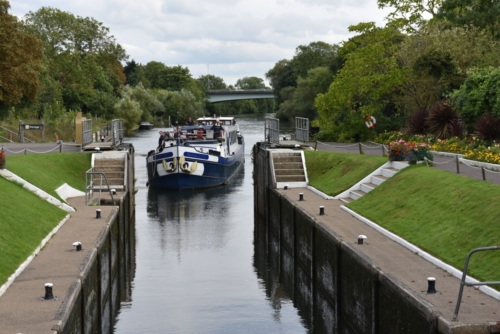 entering Bray lock