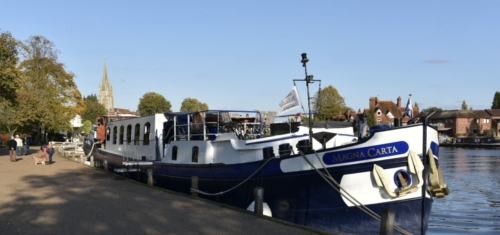 moored in Marlow